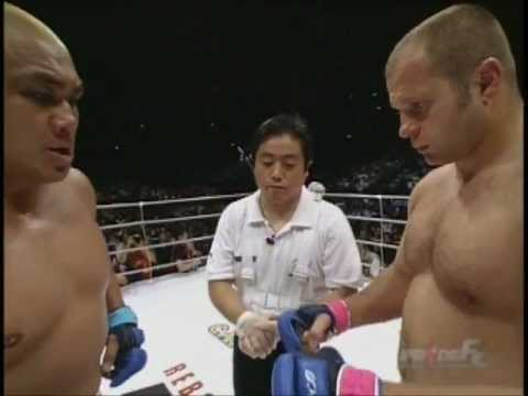 Subscribe for more! One of the greatest heavyweights of all time, Fedor Emelianenko, battles Japan&#039;s durable, Kazuyuki Fujita.