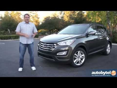 2014 Hyundai Santa Fe Sport 2.0L Turbo Test Drive Video Review