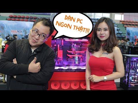 ĐẠI CHIẾN dàn máy tính SIÊU KHỦNG - Intel Extreme PC Master 2018