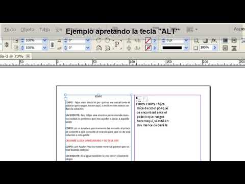Tutorial Indesign // Trucos para importar texto