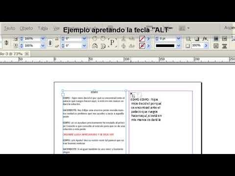 Tutorial Indesign // Trucos para importar texto