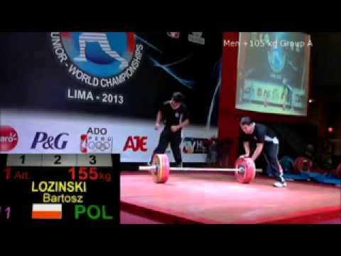 2013 World Junior Weightlifting +105 kg Snatch