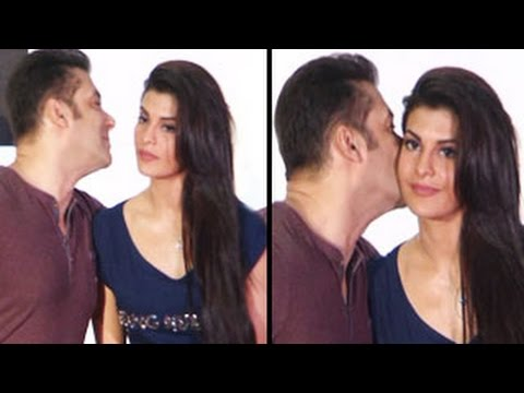 Jacqueline Fernandez Kick Salman Khan Salman Khan Kisses Jacqueline