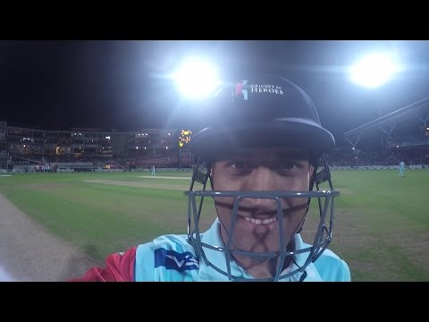 MS Dhoni fixes Brendon McCullum's GoPro