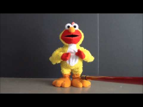 Sesame Street Elmo And Cookie Monster Sing Chicken Dance - Abc's - Oh When The Saints Go Marching In video