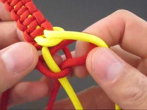 How to Make a (Paracord) Support Bracelet by TIAT