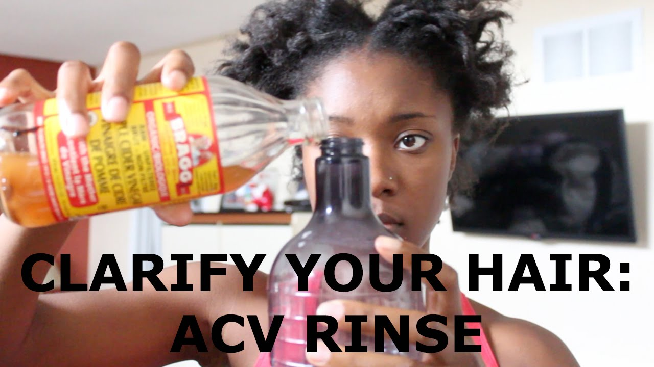 Natural Hair How To Clarify Hair With Apple Cider