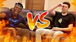 INSULTS MATCH vs KSI