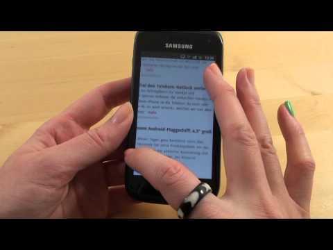 Samsung Galaxy W - Handy Test - Review - Deutsch