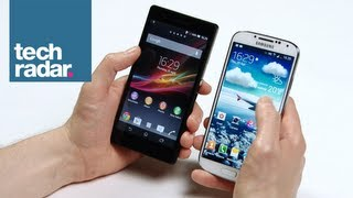 Samsung Galaxy S4 vs Xperia Z Comparison Review