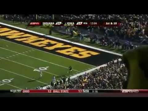 2009 Iowa Hawkeye Football Season Highlights NCAA Video