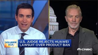 Watch CNBC39s full interview with Huawei USA security chief Andy Purdy