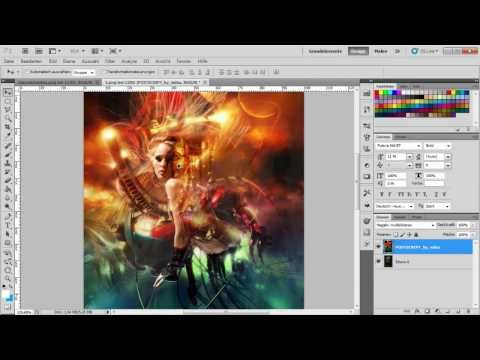 Adobe Photoshop Tutorial - Amazing Artwork