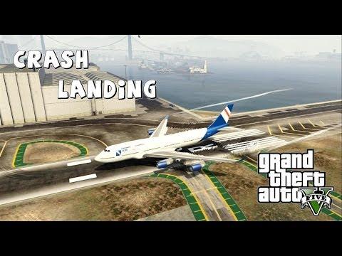 GTA V 747 Crash Landings #3