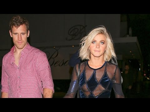 Julianne Hough Needs Help Walking After DWTS Party, Suffers Wardrobe Malfunction