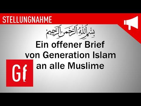 Ein offener Brief von Generation Islam an alle Muslime!