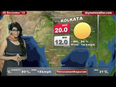 Skymet Weather Report - India December 28, 2012