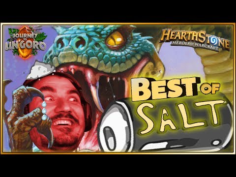 Hearthstone - Best of Un'Goro Salty & Rage Moments - Funny and lucky Rng Moments