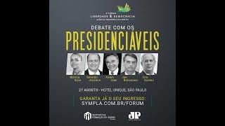 Salário STF - Fórum Debate Presidenciáveis Jovem Pan IFL