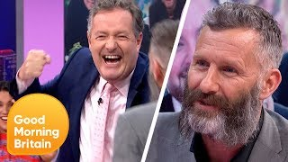 Piers Morgan and Adam Hills Reignite Their Papoose Twitter Feud | Good Morning Britain