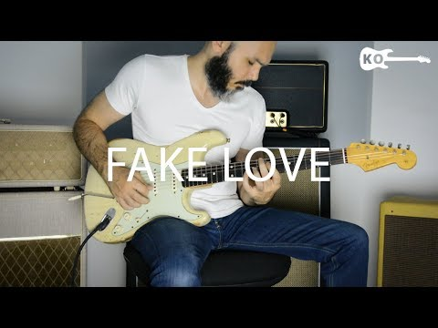BTS (방탄소년단) - Fake Love - Electric Guitar Cover by Kfir Ochaion