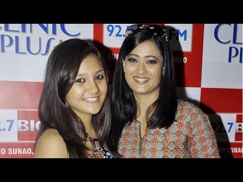 Spotted! Shweta Tiwari Along With Her Screen Daughter Aashika Bharati