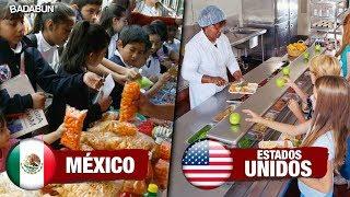 Diferencias entre escuelas de EE. UU. y México