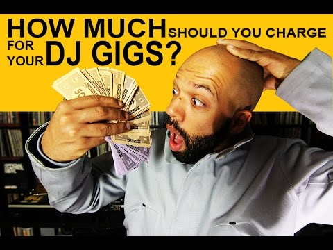 How much should you charge for your DJ gigs?