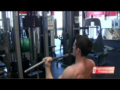 Instructional Fitness - Underhand Pull Downs Image 1