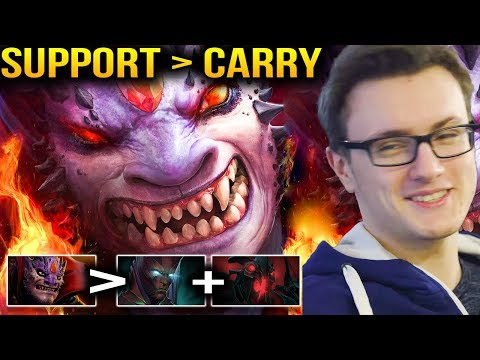 Miracle- Lion Roaming Shut Down All Carries Dota 2 7.07c