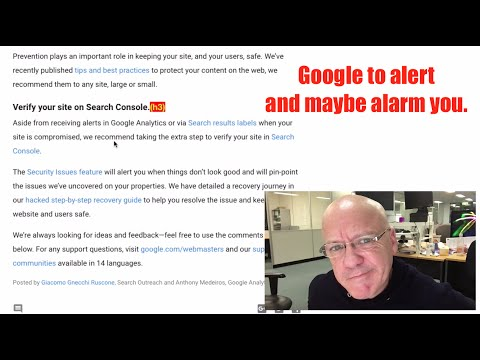 Is your site full of spam hacks? Google to send alerts