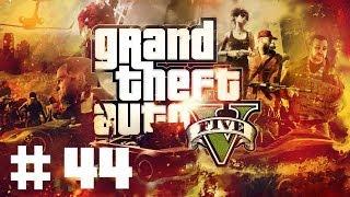 [PS3] Zagrajmy w GTA V #44 - Skok na pociąg