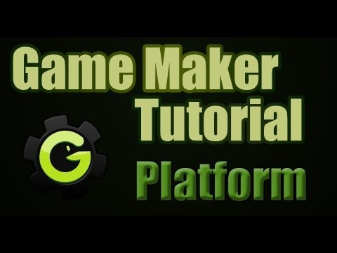 2) Platform Game Maker Tutorial
