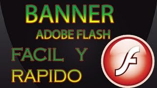 tutorial crear banners en adobe flash cs4