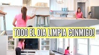 TODO EL DIA LIMPIA CONMIGO|LIMPIANDO MI CASA EN RAPIDO|MicaelaDIY