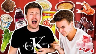 TRYING FOODS JOE SUGG HAS NEVER LIKED