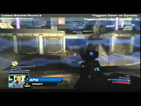 MLG Dallas 2010 Nationals ♦ Losers Bracket Round 2 ♦ Triggers Down vs Dynasty ♦ Part 3