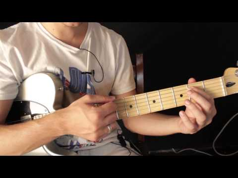 Aprende a Tocar en Guitarra Electrica los Acordes Power Chords - Acordes de Quinta (5)