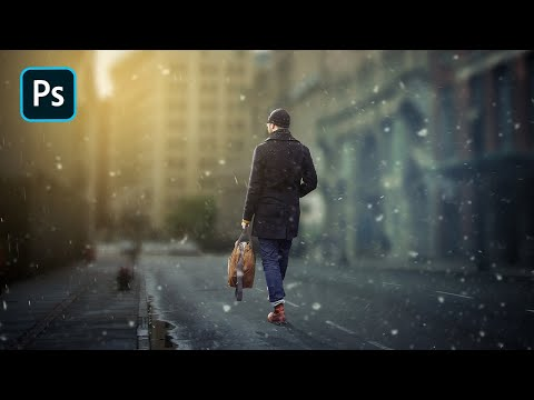 Photoshop CC 2017 Tutorial | Background and Mixing Color Grading