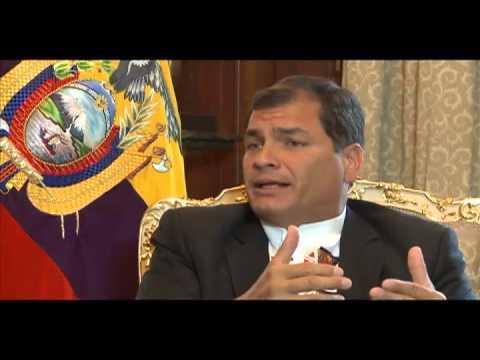 Entrevista del Presidente Rafael Correa con el diario inglés The Guardian