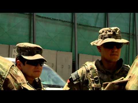 "Joint Engineer Personal Security Detail ""Drive Team"" in Kabul, Afghanistan 