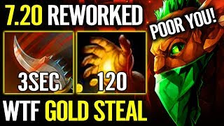 ARTEEZY 1000% IMBA GOLD STEAL New EPIC Bounty Hunter 7.20 META Fun Dota 2 Gameplay + EG Stack