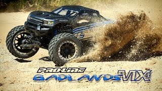 Pro-Line Badlands MX43 Pro-Loc Tires & Impulse Pro-Loc Wheels for X-MAXX