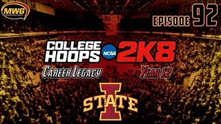 MWG -- College Hoops 2K8 -- Career Legacy, Episode 92
