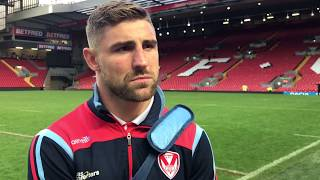 Makinson: I'll never forget the Saints fans in Kop end