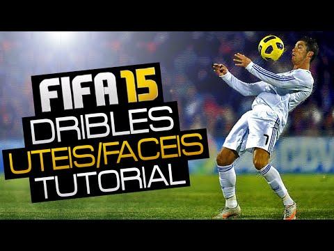 FIFA 15 - Tutorial/Dica - TOP 11 Dribles Mais Fáceis e Úteis!