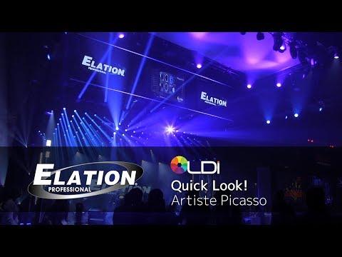 Elation Professional - Quick Look! LDI2017 - Artiste Picasso