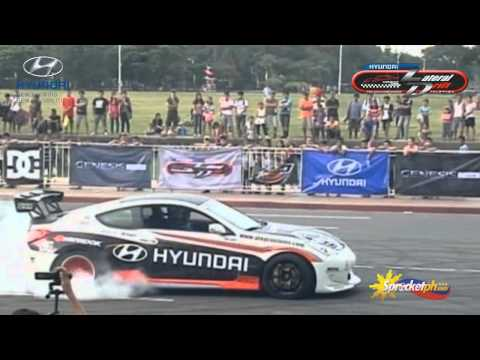 The Philippine Launch of 2013 Genesis Coupe @ Hyundai Lateral Drift Championship Series 2012