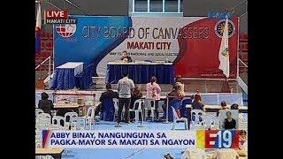 #Eleksyon2019: 96.8% na ng mga boto sa pagka-alkalde ng Makati ang naitransmit
