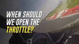 Throttle Control Timing: When to Get Back to the Throttle Mid-Corner